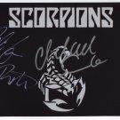 Scorpions (Band) Michael Schenker Uli Jon Roth SIGNED Photo COA 100% Genuine