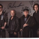 Focus (Band) Thys Van Leer + 3  SIGNED Photo + Certificate Of Authentication 100% Genuine