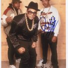 "Run DMC SIGNED 8"" x 10"" Photo + Certificate Of Authentication  100% Genuine"