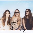 "Haim (Band) SIGNED 8"" x 10"" Photo + Certificate Of Authentication  100% Genuine"