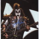 "Gene Simmons (Kiss) SIGNED 8"" x 10"" Photo + Certificate Of Authentication  100% Genuine"