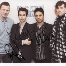 "The Stereophonics  SIGNED 8"" x 10"" Photo + Certificate Of Authentication  100% Genuine"
