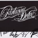 "Parkway Drive (Band) SIGNED 8"" x 10"" Photo + Certificate Of Authentication 100% Genuine"