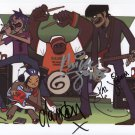 The Gorillaz (Band) SIGNED Photo 1st Generation PRINT Ltd 150 + Certificate /6