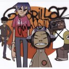 The Gorillaz (Band) SIGNED Photo 1st Generation PRINT Ltd 150 + Certificate /5