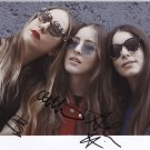 Haim (Band) SIGNED Photo 1st Generation PRINT Ltd 150 + Certificate /6