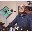 Brian Eno SIGNED Photo 1st Generation PRINT Ltd 150 + Certificate /3