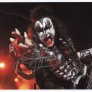 Gene Simmons (Kiss) SIGNED Photo 1st Generation PRINT Ltd 150 + Certificate /2