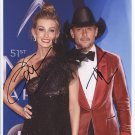 Faith Hill & Tim McGraw SIGNED Photo + Certificate Of Authentication 100% Genuine
