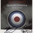 The Who (Band) Pete & Simon Townshend SIGNED Photo + Certificate Of Authentication 100% Genuine