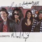 The Guillemots (Band) FULLY SIGNED  Photo + Cerrtificate Of Authentication 100% Genuine