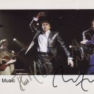 Roxy Music (Band) SIGNED Photo + Certificate Of Authentication 100% Genuine