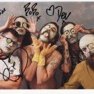 The Idles (Band) FULLY SIGNED Photo + Certificate Of Authentication  100% Genuine
