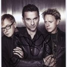 "Depeche Mode SIGNED 8"" x 10"" Photo + Certificate Of Authentication  100% Genuine"