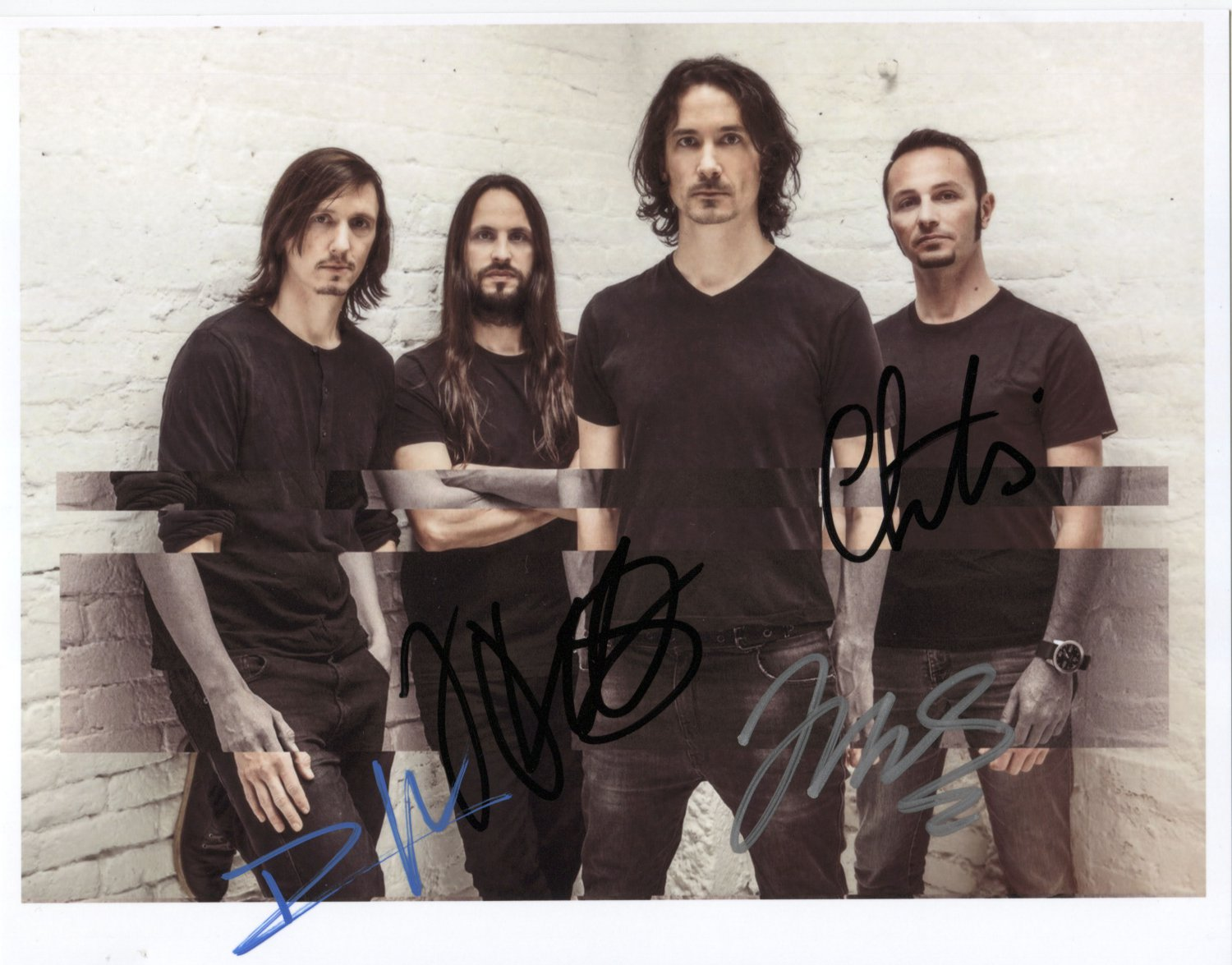 """Gojira (Band) FULLY SIGNED 8"""" x 10"""" Photo + Certificate Of Authentication 100% Genuine"""