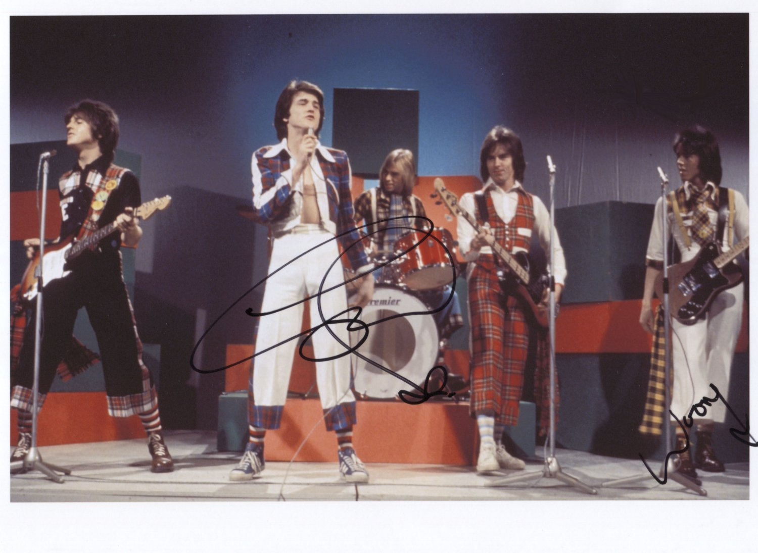 """Bay City Rollers SIGNED 8"""" x 10"""" Photo + Certificate Of Authentication 100% Genuine"""