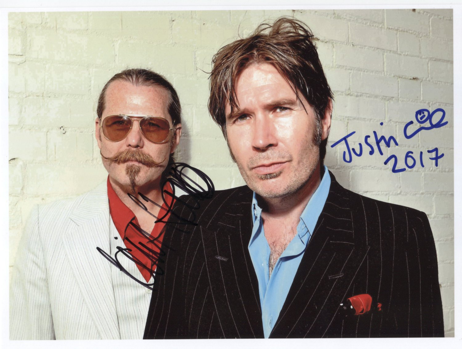 "Del Amitir SIGNED 8"" x 10"" Photo + Certificate Of Authentication 100% Genuine"