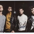 The 1975 (Band) Matt Healy FULLY SIGNED Photo + Certificate Of Authentication 100% Genuine