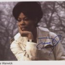 "Dionne Warwick SIGNED 8"" x 10"" Photo + Certificate Of Authentication 100% Genuine"