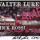 Walter Lure Johnny Thunders LAMF Band SIGNED Photo + Certificate Of Authentication  100% Genuine