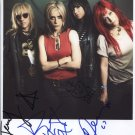 L7 (Band) Jennifer Finch Donita Sparks + 2 SIGNED Photo + Certificate Of Authentication 100% Genuine