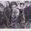 "Aiden (Band) FULLY SIGNED 8"" x 10"" Photo + Certificate Of Authentication 100% Genuine"