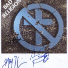 Bad Religion (Band) SIGNED Photo + Certificate Of Authentication  100% Genuine