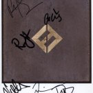 """Foo Fighters FULLY SIGNED 8"""" x 10"""" Photo + Certificate Of Authentication  100% Genuine"""