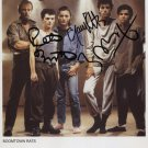 """The Boomtown Rats SIGNED 8"""" x 10"""" Photo + Certificate Of Authentication  100% Genuine"""