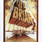 Monty Python Eric Idle Terry Jones Michael Palin SIGNED Photo  Certiificate Of Authentication