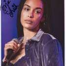 Jorja Smith SIGNED Photo + Certificate Of Authentication 100% Genuine