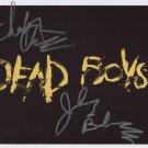 The Dead Boys (U.S. Punk Band) Cheetah Chrome SIGNED Photo + COA Lifetime Guarantee