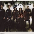 "Within Temptation FULLY SIGNED 8"" x 10"" Photo + Certificate Of Authentication  100% Genuine"