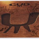 Cud (Indie Rock Band) SIGNED Photo + Certificate Of Authentication 100% Genuine