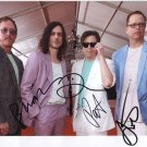 Weezer (Band) FULLY SIGNED  Photo + Certificate Of Authentication  100% Genuine
