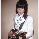 "Jeff Beck SIGNED 8"" x 10"" Photo + Certificate Of Authentication  100% Genuine"