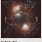 Simple Minds FULLY SIGNED Photo + Certificate Of Authentication  100% Genuine