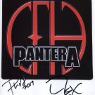"Pantera (Band) SIGNED 8"" x 10"" Photo + Certificate Of Authentication 100% Genuine"