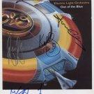 E.L.O. Jeff Lynne, Groucutt, Kaminski, Clark Bev Bevan SIGNED Photo + COA  100% Genuine