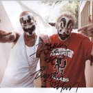 Insane Clown Posse SIGNED Photo 1st Generation PRINT Ltd 150 + Certificate / 3