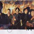 """Snow Patrol (Band) FULLY SIGNED 8"""" x 10"""" Photo + Certificate Of Authentication  100% Genuine"""
