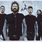 Mastodon (Band) FULLY SIGNED  Photo + Certificate Of Authentication  100% Genuine