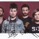 Bastille (Band) FULLY SIGNED Photo + Certificate Of Authentication 100% Genuine