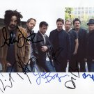 Counting Crows SIGNED Photo 1st Generation PRINT Ltd 150 + Certificate / 2