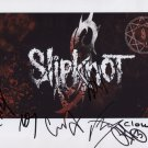 Slipknot (Band) FULLY SIGNED  Photo + Certificate Of Authentication 100% Genuine