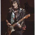 Ronnie Wood Rolling Stones SIGNED Photo + Certificate Of Authentication 100% Genuine