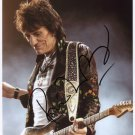 Ronnie Wood SIGNED Photo 1st Generation PRINT Ltd 150 + Certificate / 4