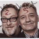Vic Reeves & Bob Reeves SIGNED Photo 1st Generation PRINT Ltd 150 + Certificate / 3