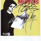 The Misfits (U.S. Punk Band) SIGNED Photo + COA Lifetime Guarantee