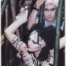 The Creatures Siouxsie Sioux Budgie Banshees SIGNED Photo + Certificate Of Authentication Genuine